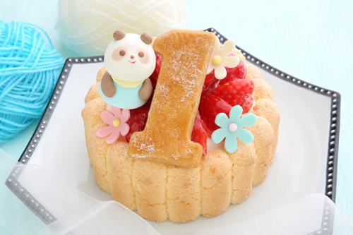 ファーストアニバーサリーケーキ