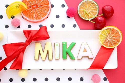 【神宿公式コラボ商品】MIKA(みかちん) アルファベットアイシングクッキー