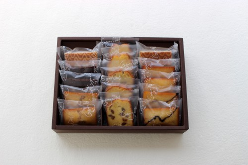 焼き菓子15個入り ドゥミセックアソート