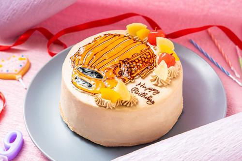 イラストケーキ 4号 12cm(作例は、グローブです)