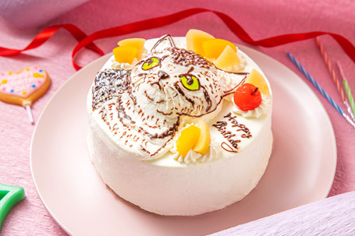 立体のせケーキ 4号 12cm