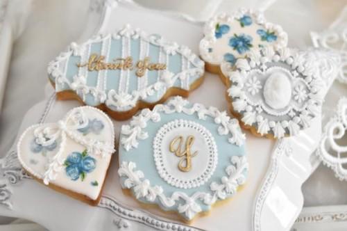 ☆人気商品☆ロココ風アイシングクッキーセット