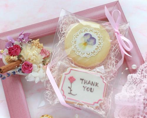 【お花】アイシングクッキー/ エディブルフラワー