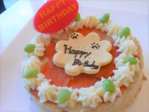 【犬用ケーキ】食事系ケーキ 12cm