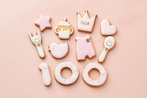 Baby 100days アイシングクッキー