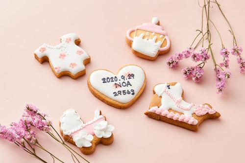 【出産祝い】アイシングクッキー!