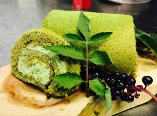 嬉野新緑ロール 米粉ロールケーキ グルテンフリー