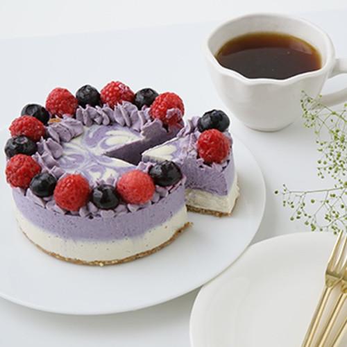 ブルーベリー&イチゴRAWケーキ 12cm