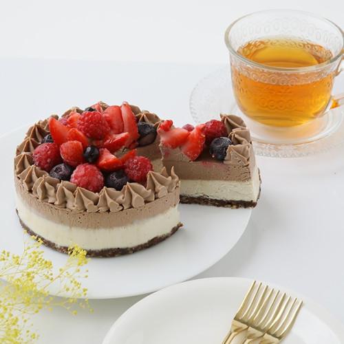 グルテンフリー ヴィーガンRAWチョコケーキ 12cm