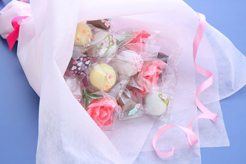 食べられる花束 お菓子ブーケ