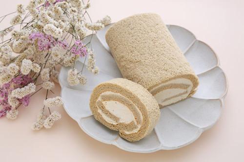 ふんわりそば粉のロールケーキ(1本)