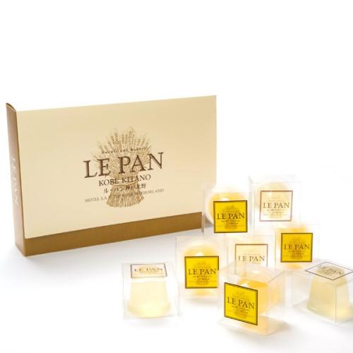 ル・パンのとろけるジュレゼリー(瀬戸内レモン、「福寿」純米吟醸と安富ゆず 12個セット)