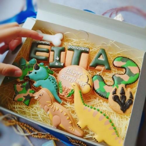 恐竜アイシングクッキーセット
