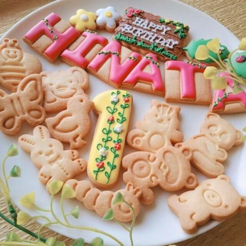 森の動物アイシングクッキーセット