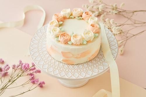 フラワーケーキ*バタークリーム 4号 12cm