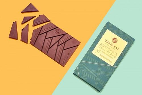 アルティザンブレンド アメロナド種+トリニタリオ種82%【乳不使用】DIOGO VAZ社 タブレットチョコレート