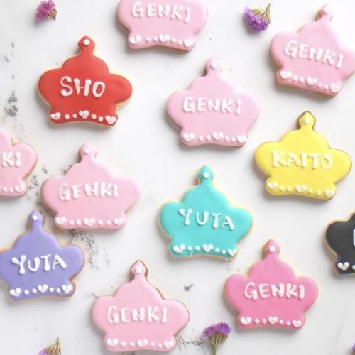 【王冠・クラウン】アイシングクッキー