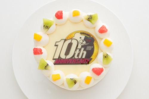 「ダンガンロンパ」10周年記念ケーキ 4号 12cm