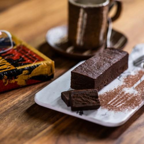 生チョコ食感!!贅沢で優雅な大人のChocolate Terrine
