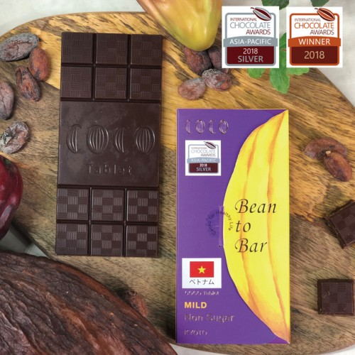 【CHOCOLATE AWARDS 2018 SILVER受賞】カカオ85%Bean to Bar ベトナム産