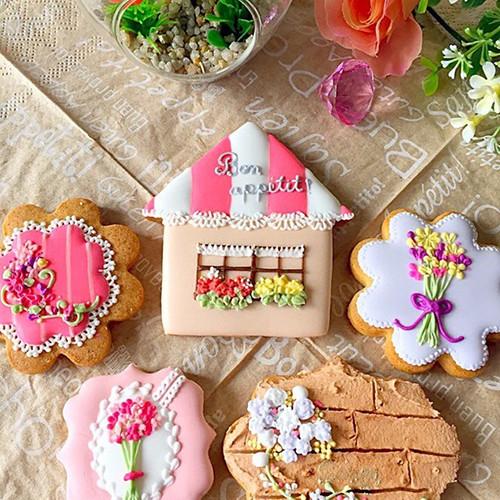 【flower&house】アイシングクッキー