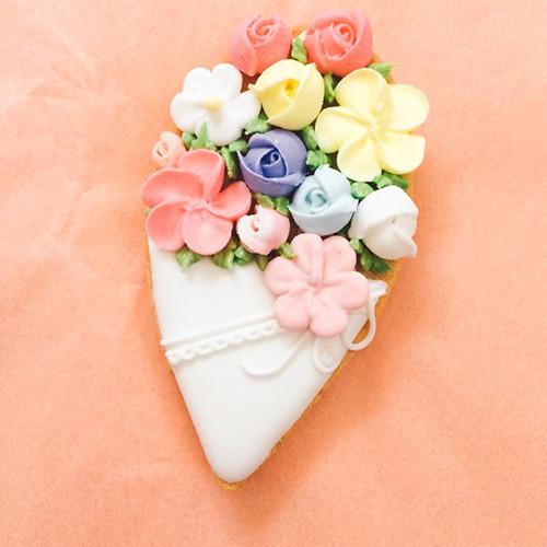 花束アイシングクッキー