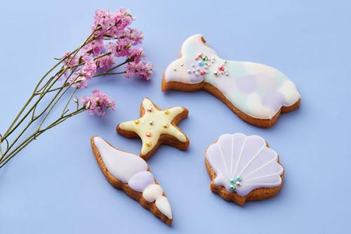 マーメイドセットアイシングクッキー