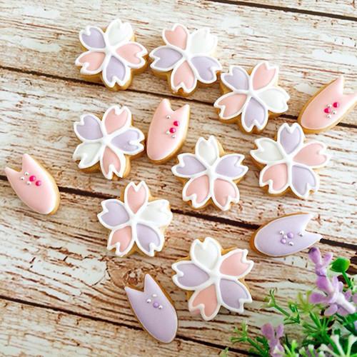 さくら咲く!桜 アイシングクッキー