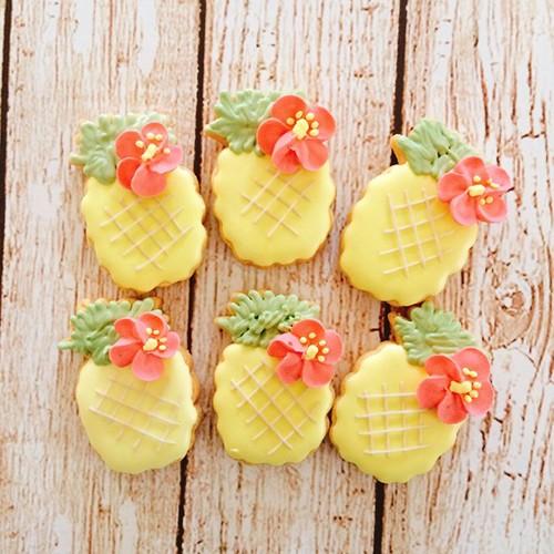 夏!パイナップル!アイシングクッキー