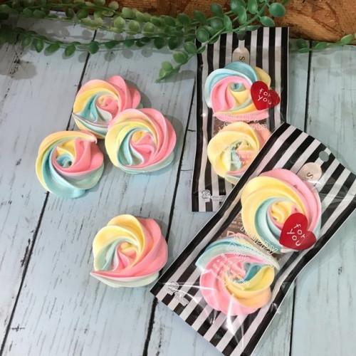 お花のメレンゲクッキー(2個×3袋)