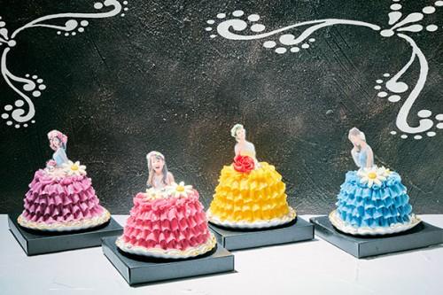 ミニドールケーキ