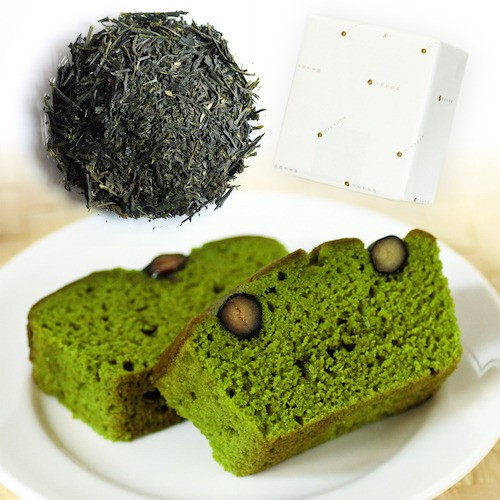 宇治抹茶パウンドケーキと宇治煎茶のセット item-matcha-pound-set