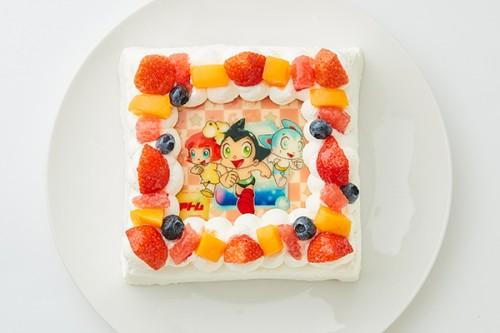 【GO!GO!アトム 】フォトケーキ「Pix」 4号 12cm