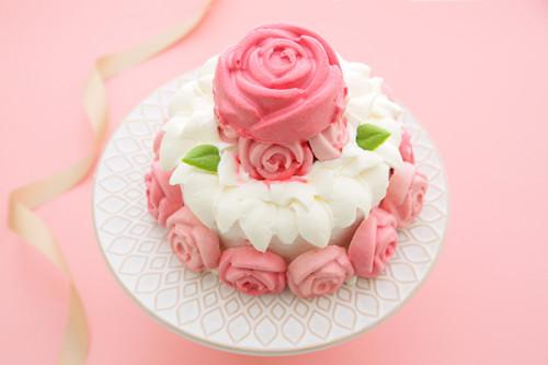 【再入荷】冷凍生ケーキ「ローズガーデン」