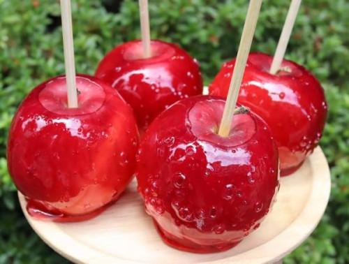 数量限定 もぎたて季節のりんご飴Bセット