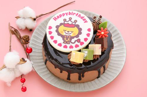 フォトキャラクタードリップケーキ 4号 12cm