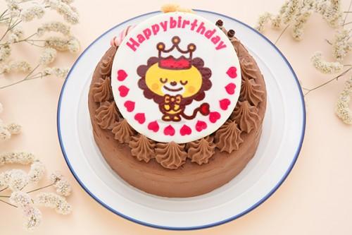 フォトキャラクタープレートケーキ チョコ 4号 12cm
