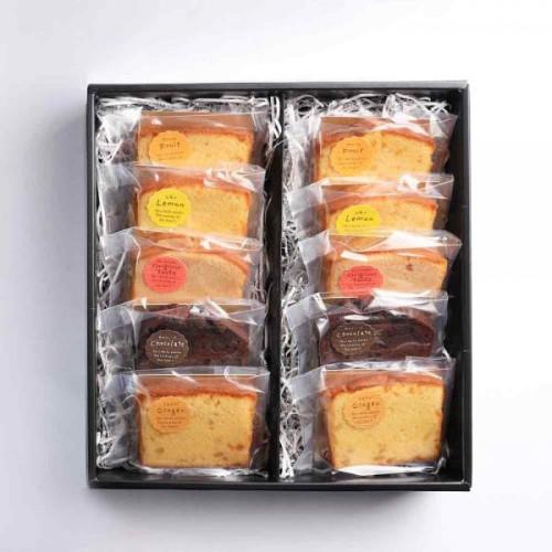 グルテンフリー 季節のパウンドケーキ5種 10個入り