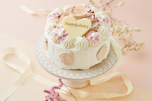 マロンのお花ケーキ 4号 12cm