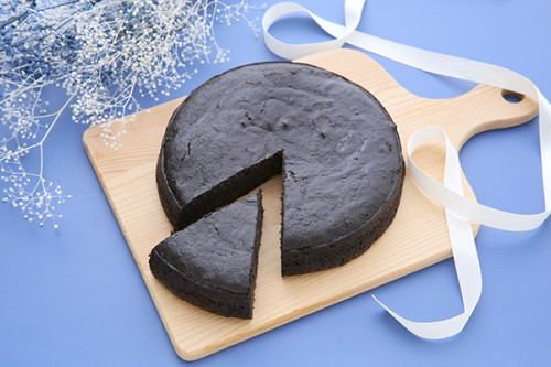 すみやの炭チョコケーキ5号ホール  オーガニック ヘルシー ビター