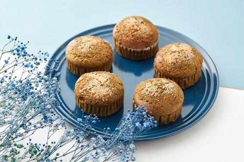 山のカップケーキ イタドリジャム&ヨモギ 5個セット 口に広がる山の香り