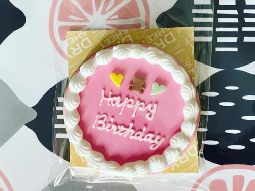 お誕生日ケーキクッキー