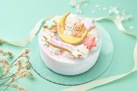 三日月くまちゃんケーキ
