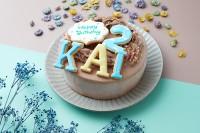 アルファベットアイシングクッキー生チョコクリームデコレーション(4文字)