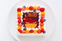 【炎炎ノ消防隊】フォトケーキ「Pix」 4号 12cm