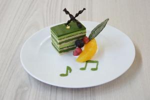 花茶人 京オペラ抹茶九重ケーキ