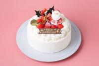 クリスマスケーキ2020 いちごの生デコレーション4号