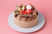 クリスマスケーキ2020 生チョコデコレーション5号