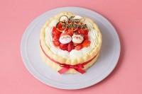 クリスマスケーキ2020 乳幼児向けヨーグルトケーキ4号