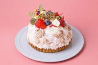 クリスマスケーキ2020 いちごと生チョコレートのタルト5号